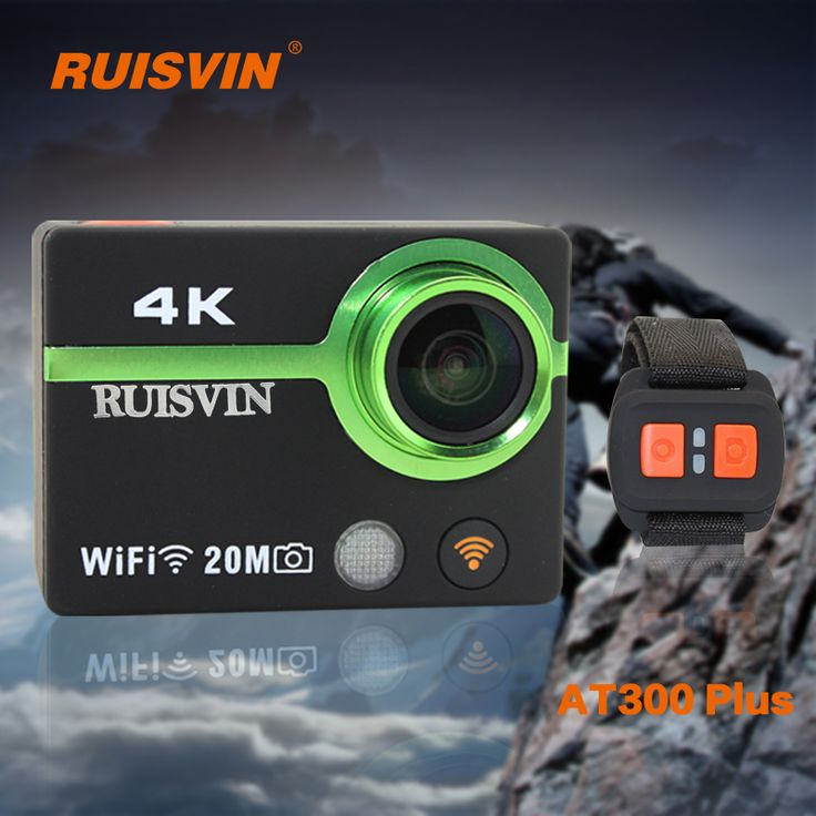 RUISVIN AT300 Plus Action Camera Full HD Sports DV Helmet Cam 4K WiFi DVR Camcorder 30M Diving Go Waterproof Pro Sport Camera //Price: $108.00 & FREE Shipping //     #DRONE