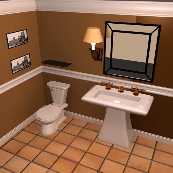 Orange Bathroom Decor Ideas Mode Home Decor