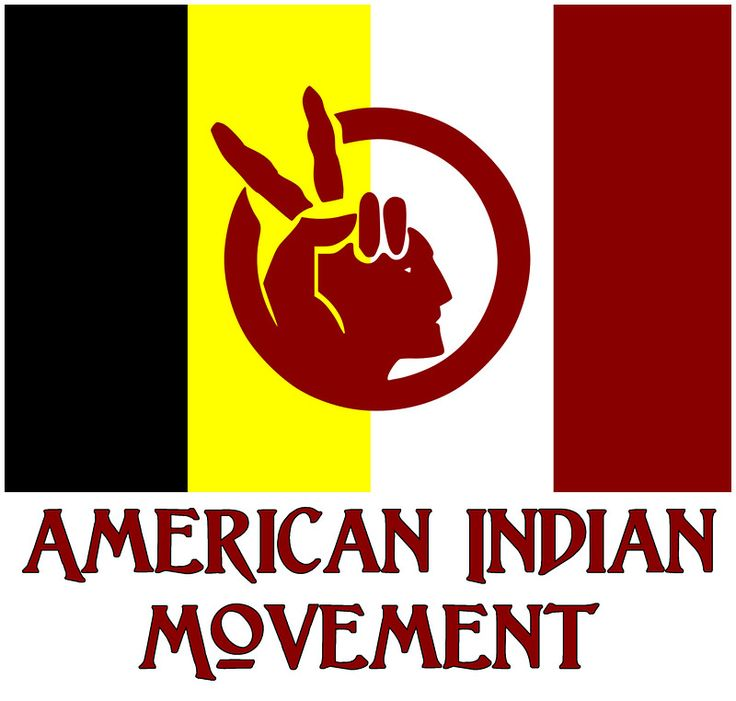 """""""The American Indian Movement - Flag"""" Photographic Prints ..."""