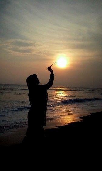 #Sunset #DepokBeach #Parangtritis #Yogyakarta #Indonesia