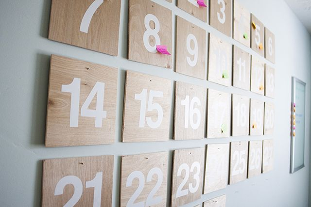 Sticky Note Calendar Diy : Diy and crafts note sticky notes on pinterest
