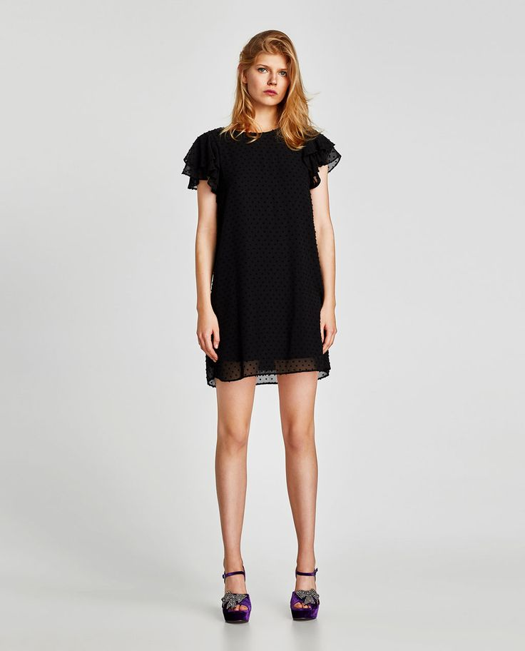 PLUMETIS FRILLY DRESS-DRESSES-WOMAN | ZARA United States