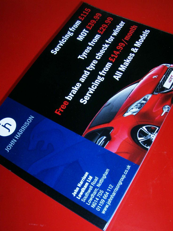 Flyers designed and printed for John Harrison. A5 size, printed 1 side on 135gms silk paper.