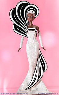 White and Black - Bob Mackie 2004 (45th Anniversary Barbie)