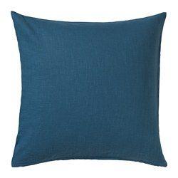 IKEA - VIGDIS, Kissenbezug, Bezug aus Ramie, einem robusten Naturmaterial mit leicht unregelmäßiger Struktur.Durch den Reißverschluss lässt sich der Bezug leicht abnehmen.