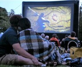Catch a Movie at The Galileo Open Air Cinema in Kirstenbosch