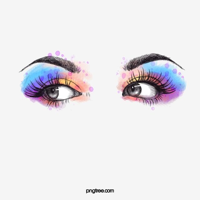 Watercolor Hand Painted Makeup Eyes Eyes Clipart Painting In Water Colours Splash Painting Png Transparent Clipart Image And Psd File For Free Download Eyes Clipart Makeup Clipart Eye Painting