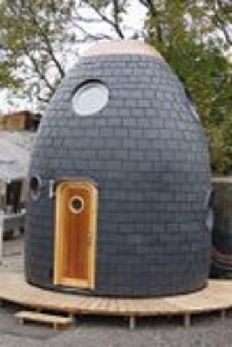 【住んでみたい】フォトジェニックな卵型エコハウス!その機能性がすごすぎる件 - デイリーニュースオンライン