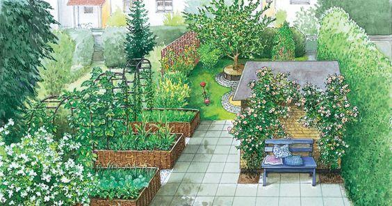 die besten 25 schmaler garten ideen auf pinterest terrasse dachterrassen und schmaler balkon. Black Bedroom Furniture Sets. Home Design Ideas