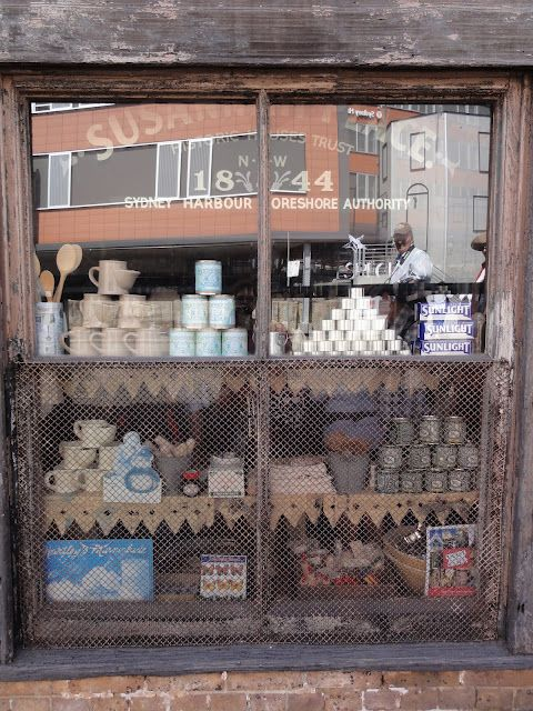 Shop window in Susannah Place, The Rocks, Sydney - Carole Riley - Picasa Web Albums