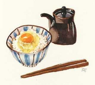 rice + egg by Osaki Yoshiyuki.
