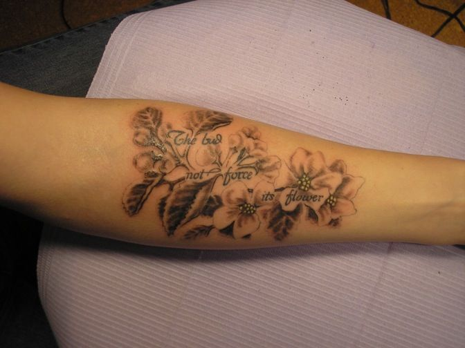 25 best ideas about apple blossom tattoos on pinterest for Apple tree tattoo designs