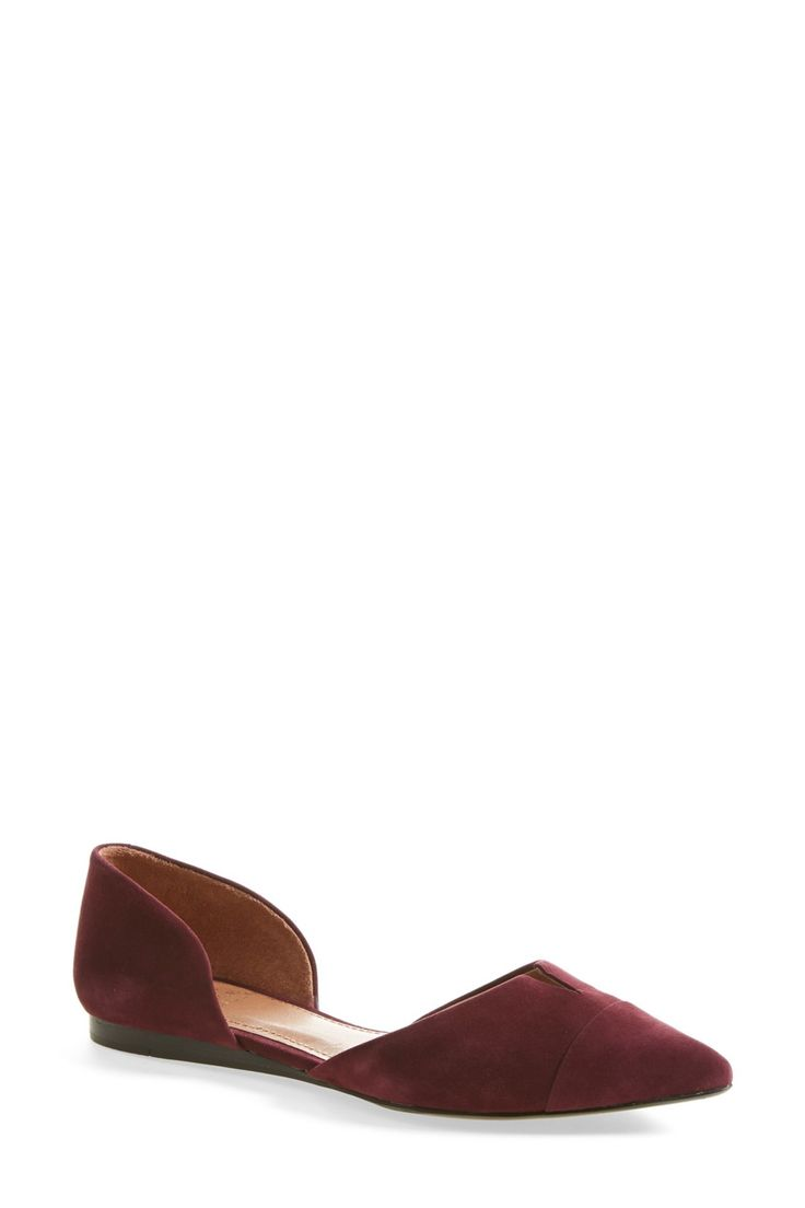 Halia d'Orsay Flat. Pointy Toe FlatsFlat SandalsFall StylesVince CamutoNordstrom  ...