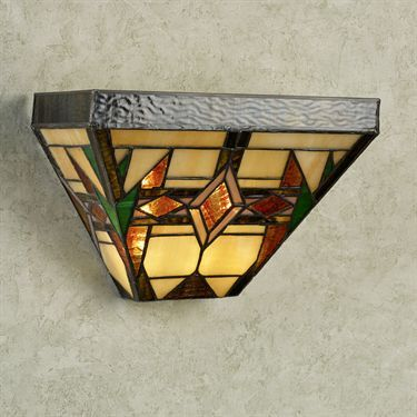 12 Best Stained Glass Wall Sconce Images On Pinterest