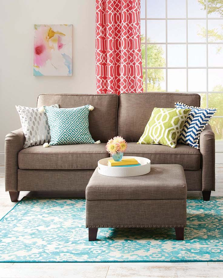 Better Homes and Gardens Grayson Loveseat with Nailheads