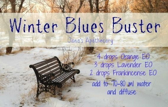 Winter Blues Buster doTERRA essential oil diffuser blend. Find your essential oils and more at www.mydoterra.com/ dianesulzer