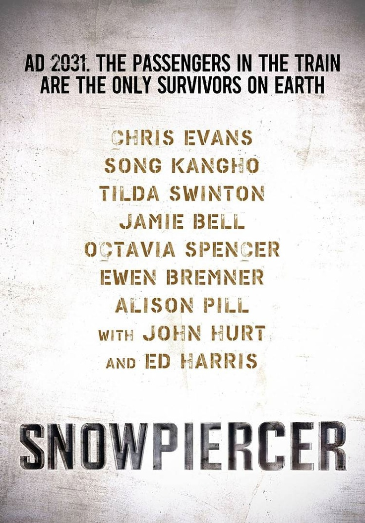 Transperceneige (Snow Piercer) -