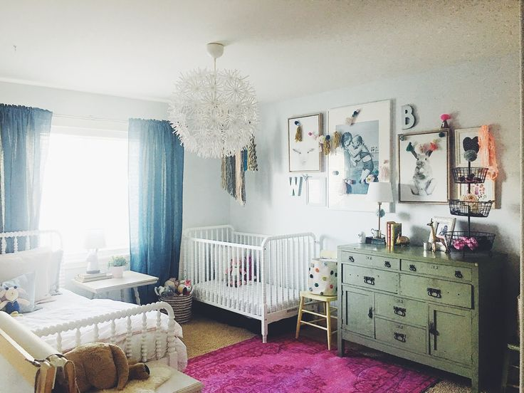 Shared bedroom design with Rugs USA s Windsor Printed Overdyed Grove. 276 best Kid s Room images on Pinterest