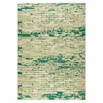 M.A. Trading Fargo Hand-Woven Green Area Rug Rug Size: 8' x 10'