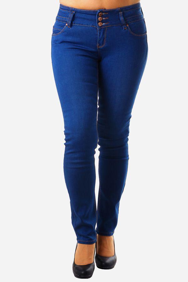 Dámské jeans tmavě modré - koupit online na Glara.cz  glara  fashion ... 827adef43f