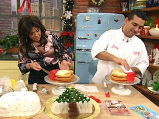 The Cake Boss' Vanilla Cake Recipe