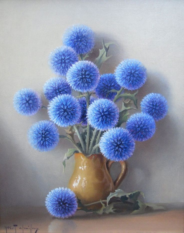 by Robert Chailloux .: Flowers Ball, Amazing Flowers, Beautiful Blue, Blue Flowers, Robert Chailloux, Still Life, Flowers Power, Into The Blue, Periwinkle Blue