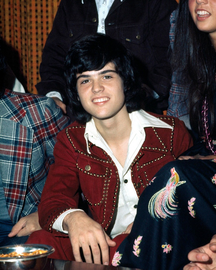 Donny Osmond Poses at A Press Call in Copenhagen Denmark.Was my very first crush.Please check out my website thanks. www.photopix.co.nz
