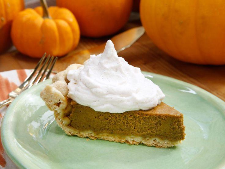 Valerie's Pumpkin Pie recipe from Valerie Bertinelli via Food Network