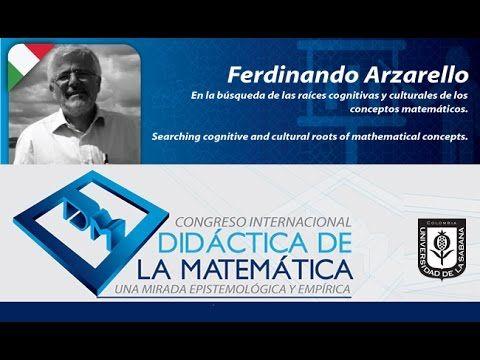 Conferencia Fernandino Arzarello (Italia) Día 2 Congreso Didáctica de la...