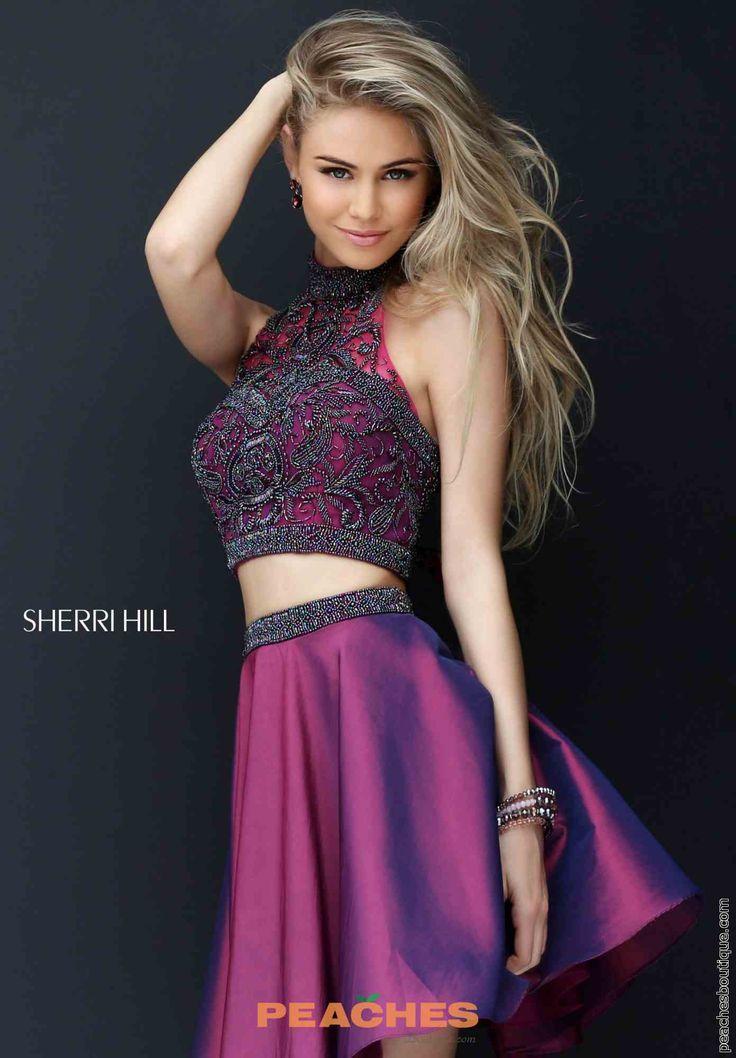 Sherri Hill Short Two Piece Dress 50524