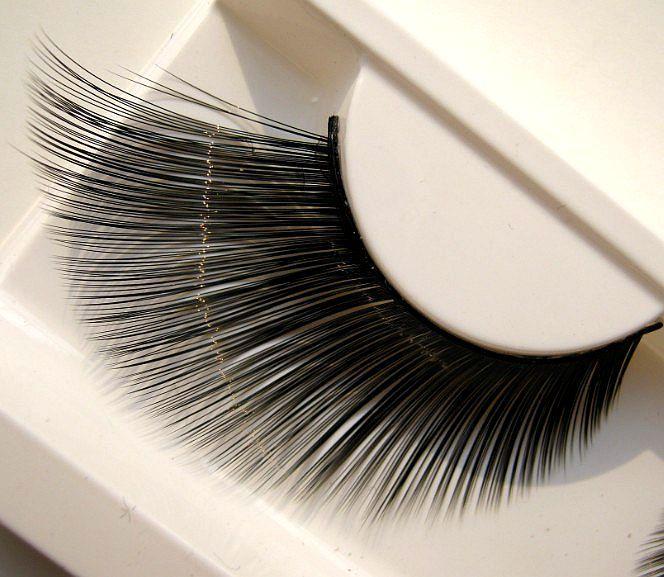1 pairs конец глаз удлиненной школа исполнительского искусства этап макияж накладные ресницы KZ01