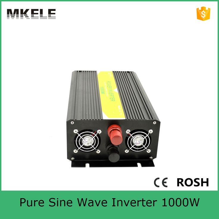 MKP1000-241B small size pure sine wave 1kw inverter solar power inverter dc 24v to ac 110vac with low price