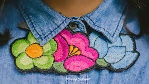 collares bordados yucatecos - Buscar con Google
