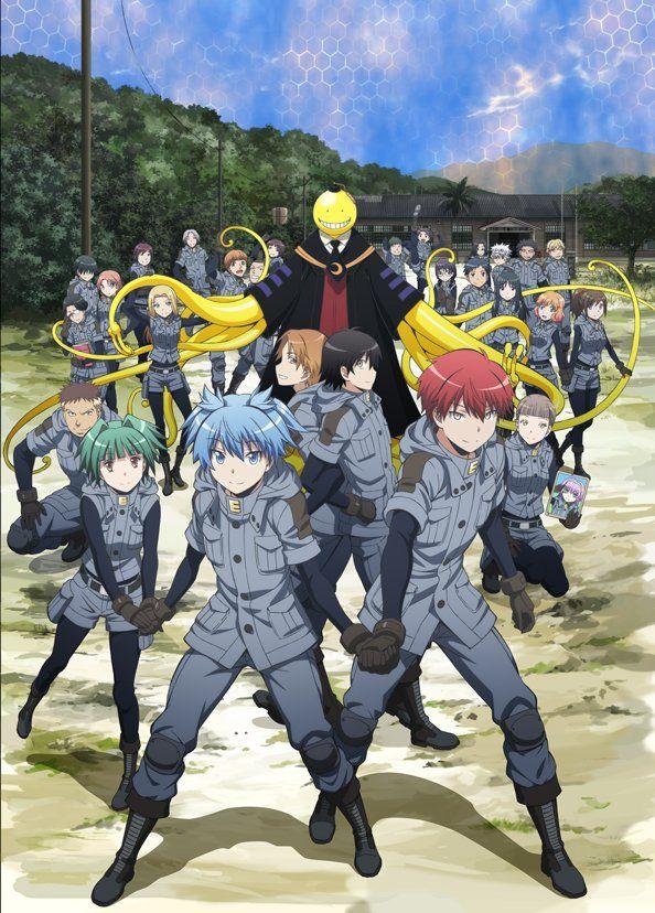 Tercera imagen promocional para la temporada final del Anime Ansatsu Kyoushitsu.