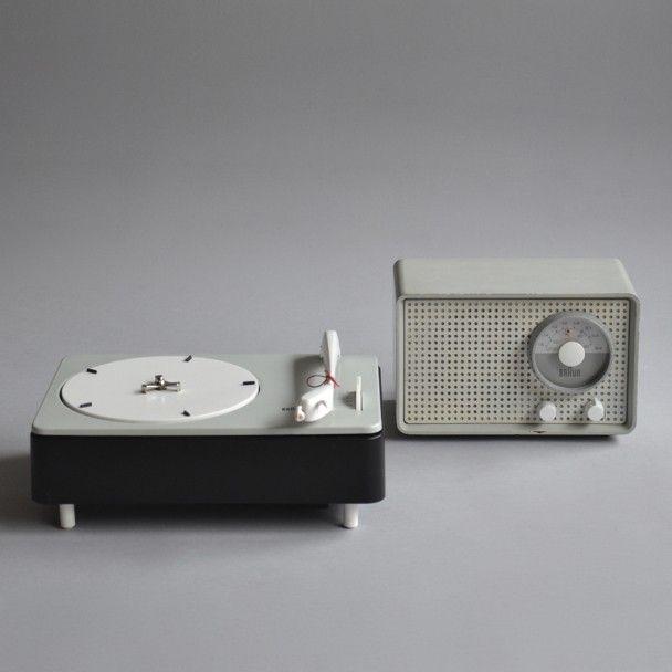 Braun - SK 2 / PC 3-SV | Designers: Braun + Eichler/ Rams + Wagenfeld + Muller (1955/1959)