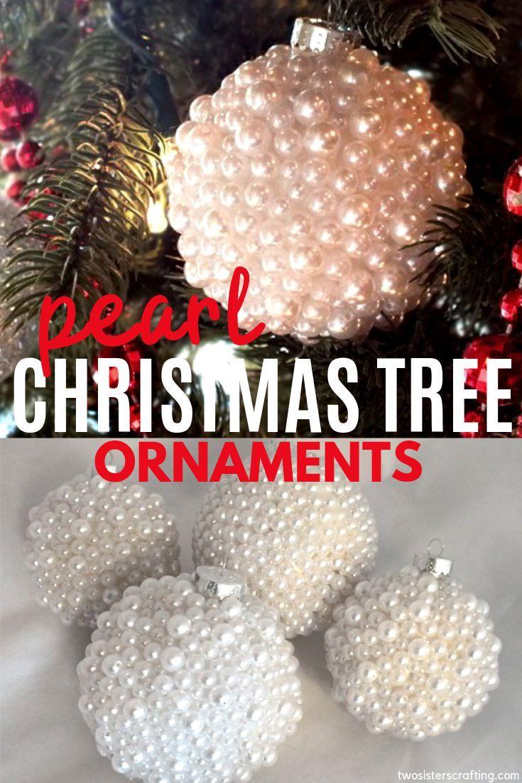 Pearl Christmas Tree Ornaments Christmas Ornaments Christmas Ornaments Homemade Christmas Ornaments Diy Kids