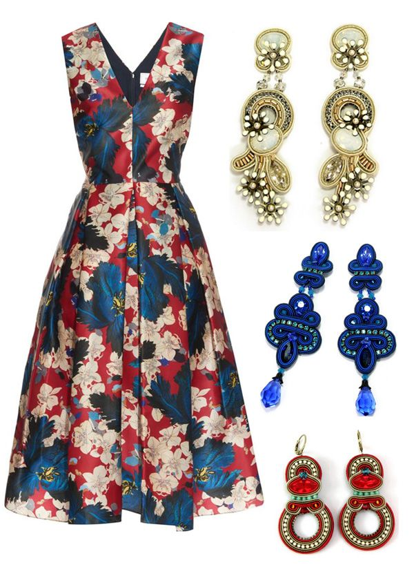 Travel tip: one dress, three Dori ways....#doricsengeri #earrings #jewelry #fashion #style #styling #ss2015