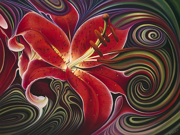 """""""Dynamic Reds""""  by Ricardo Chevez-Mendez """"Part of the Dynamic Floral Series"""""""
