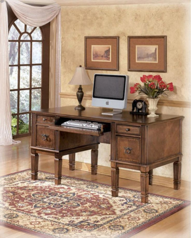 H52726 in by Ashley Furniture in Metairie, LA - Home Office Storage Leg Desk