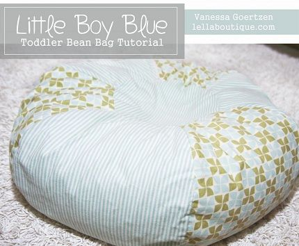 toddler bean bag tutorial