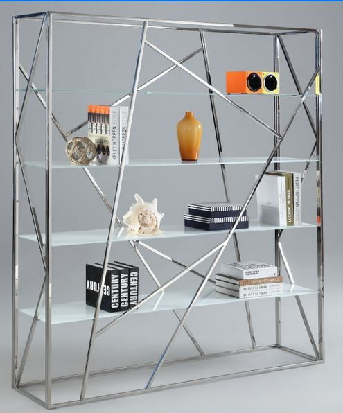 CH Stainless steel Bookcase