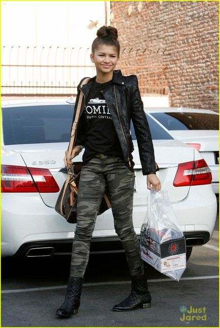 Zendaya, can I say that you have too much swag? [: