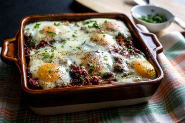 Indian-Spiced Tomato and Egg Casserole