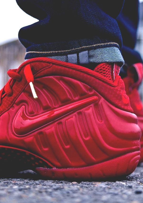 Red Foamposite (via Exclucity)