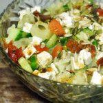 Komkommersalade met feta recept, heerlijk en gezond - Recepten maken
