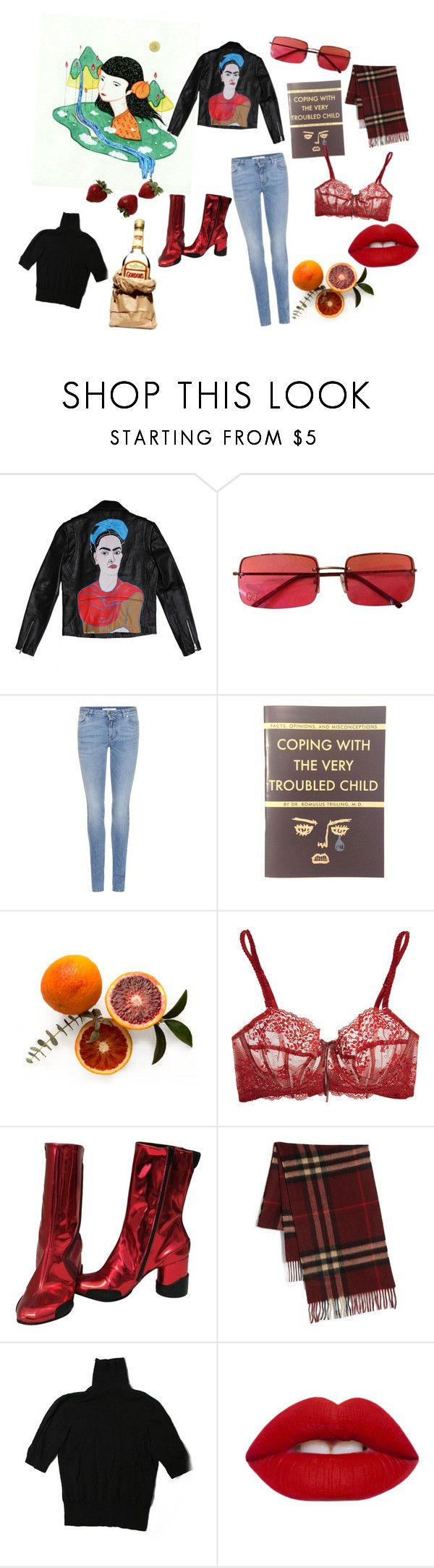 """""""aries"""" by plllllrf ❤ liked on Polyvore featuring Gucci, Givenchy, LIST, Heidi Klum Intimates, Maison Margiela, Burberry, H&M, Lime Crime, zodiac and Mars"""