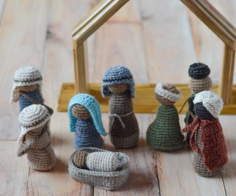 Free Amigurumi Nativity Pattern : Best crochet christmas nativity images