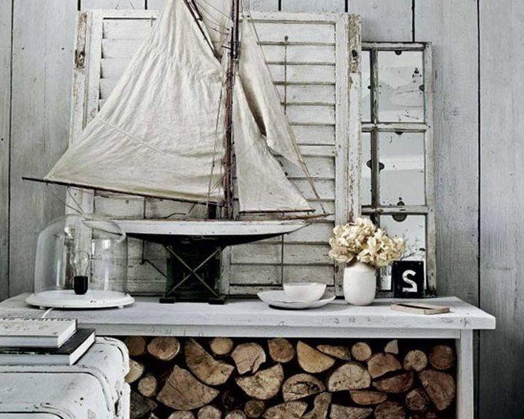 Rustic Coastal Home Of Stone White Color 2013 Picture