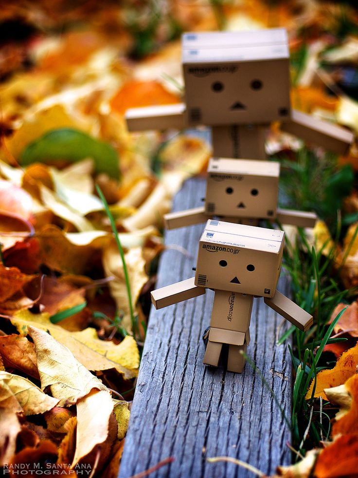 Family outings (love these Danbo images...very creative.)
