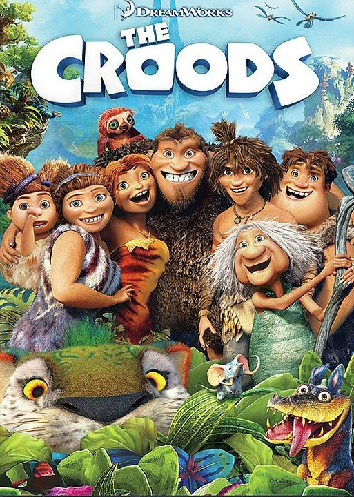 Surprisingly very entertaining and funny! Try new things, step out of your comfort zone, and get pets :) #thecroods #cutefilm #mustsee